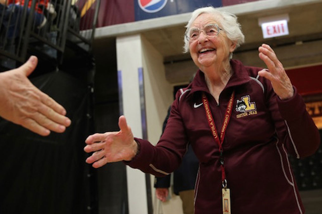 Did Sister Jean Not Believe in Divine Providence?