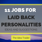 jobs for laid back personalities